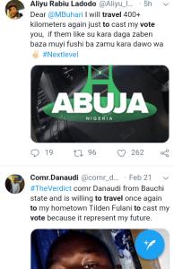 "Screenshot 20190222 1533412 - #Election2019: ""Should We Travel to Vote?"" Nigerians Decide"