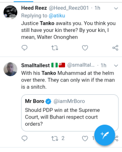 Screenshot 20190227 1141122 - 2019 Presidential Election: See What Nigerians Are Saying About Atiku's Rejection of Result