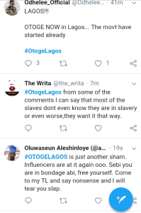"""Screenshot 20190228 1920032 - """"The Movement Has Started"""" – See What Nigerians Are Saying About Lagos"""