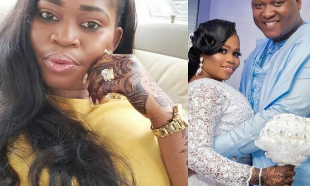 a - Woman reveals Tawa Ajisefinni is married to an abuser begs her to leave him