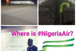 """FG Scammed Nigerians With Nigeria Air"" – PDP Blast Buhari And APC After 'Ibom Air' Begins Operation"