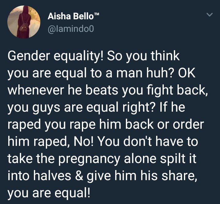 1 18 - 'Feminist Is Just An Abbreviation Of Female Stupidity' – Nigerian Lady