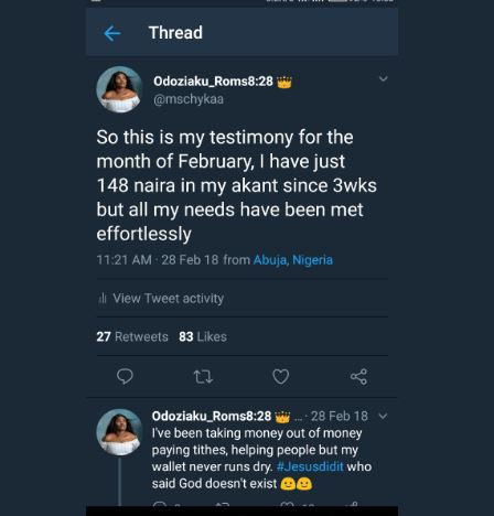 1 - MUST READ: Lady narrates how man who begged her for N100 airtime is set to be her husband