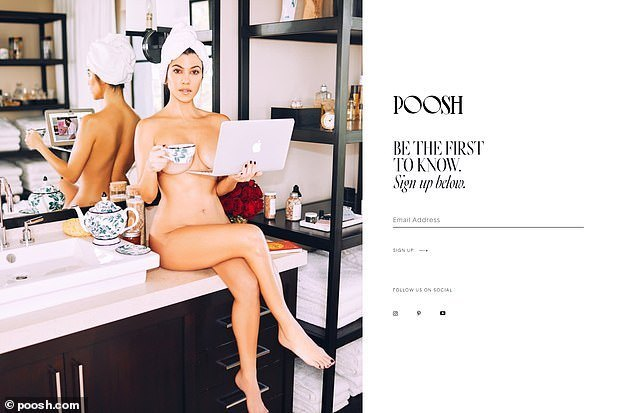 10571786 6770613 Proud of their star Poosh s official Instagram page teased This  a 27 1551744816680 - Kourtney Kardashian strips completely naked to promote Poosh