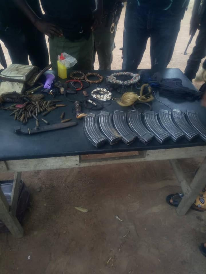 5c7a607299a63 - Kidnappers Caught In Benue With Charms and Ammunition [See Photos]