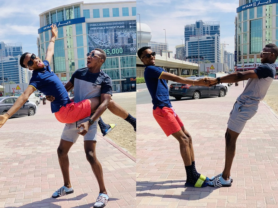 5c868aa97f428 - 'When are you guys getting married?' Viral photos of two Nigerian social media influencers spark gay rumors