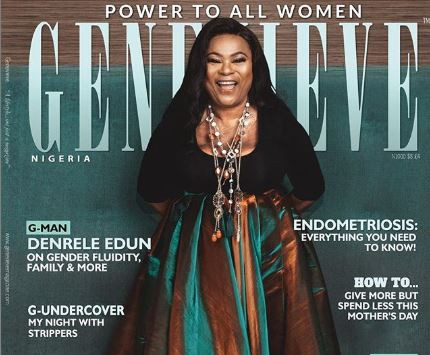 5c93685940001 - Nollywood actress Sola Sobowale lands Genevieve Magazine cover