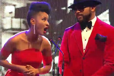 So Adorable! Ths exchange between Adesua Etomi and Banky W is all you need to see today
