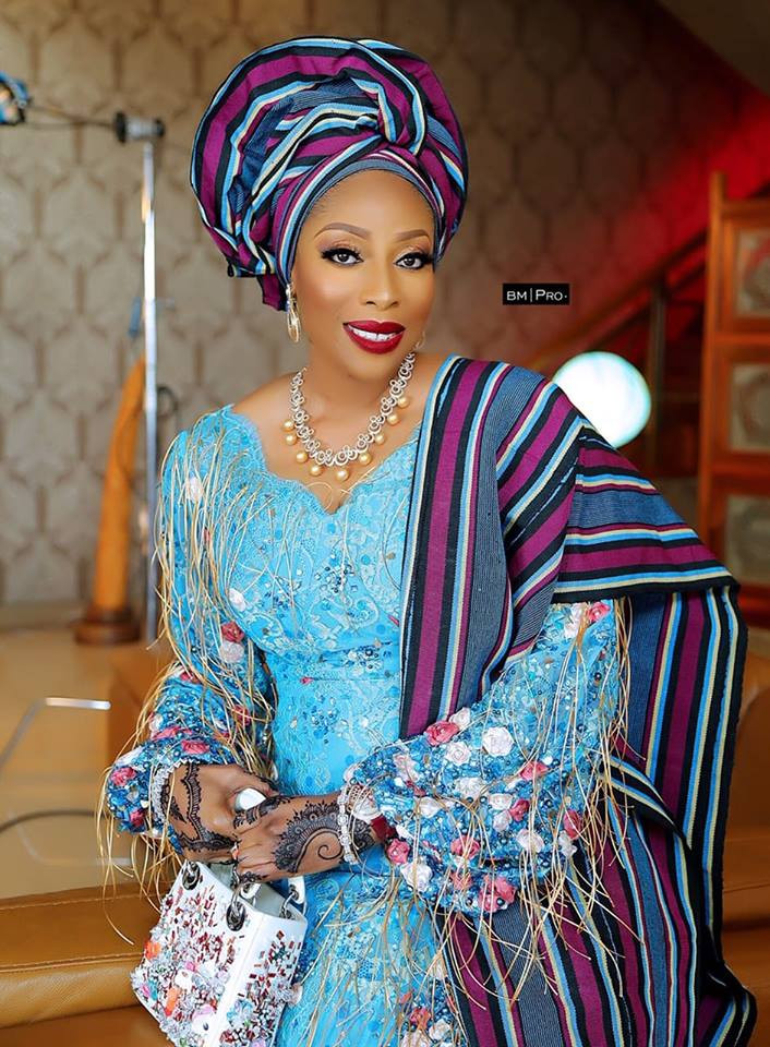 5c98ab20c89bc - [Photos]: Mo Abudu's exquisite look to her daughter's wedding is a must see