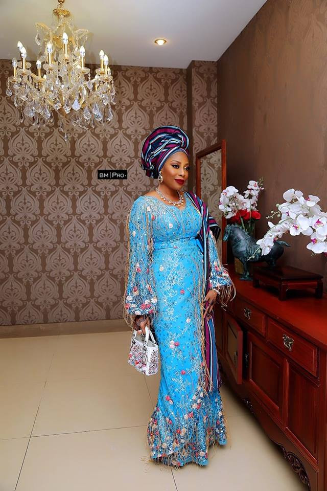 5c98ac0092ac6 - [Photos]: Mo Abudu's exquisite look to her daughter's wedding is a must see