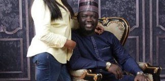 Seyi law and wife