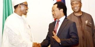 President Buhari and Shehu Sani