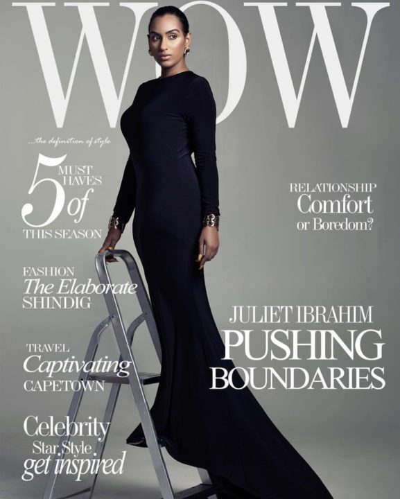 C0E93916 CA6A 455B 886B 8A9E9C783A25 - Juliet Ibrahim commands attention on the cover of Wow Magazine