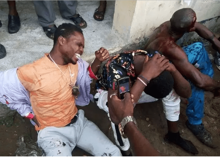 Capture 3 18 - Governorship Elections: Political Thugs Attempting To Snatch Ballot Boxes In Akwa Ibom Caught, Beaten To Pulp