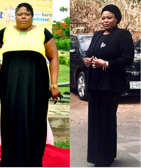 OAP Matilda Duncan shares her unbelievable weight-loss journey