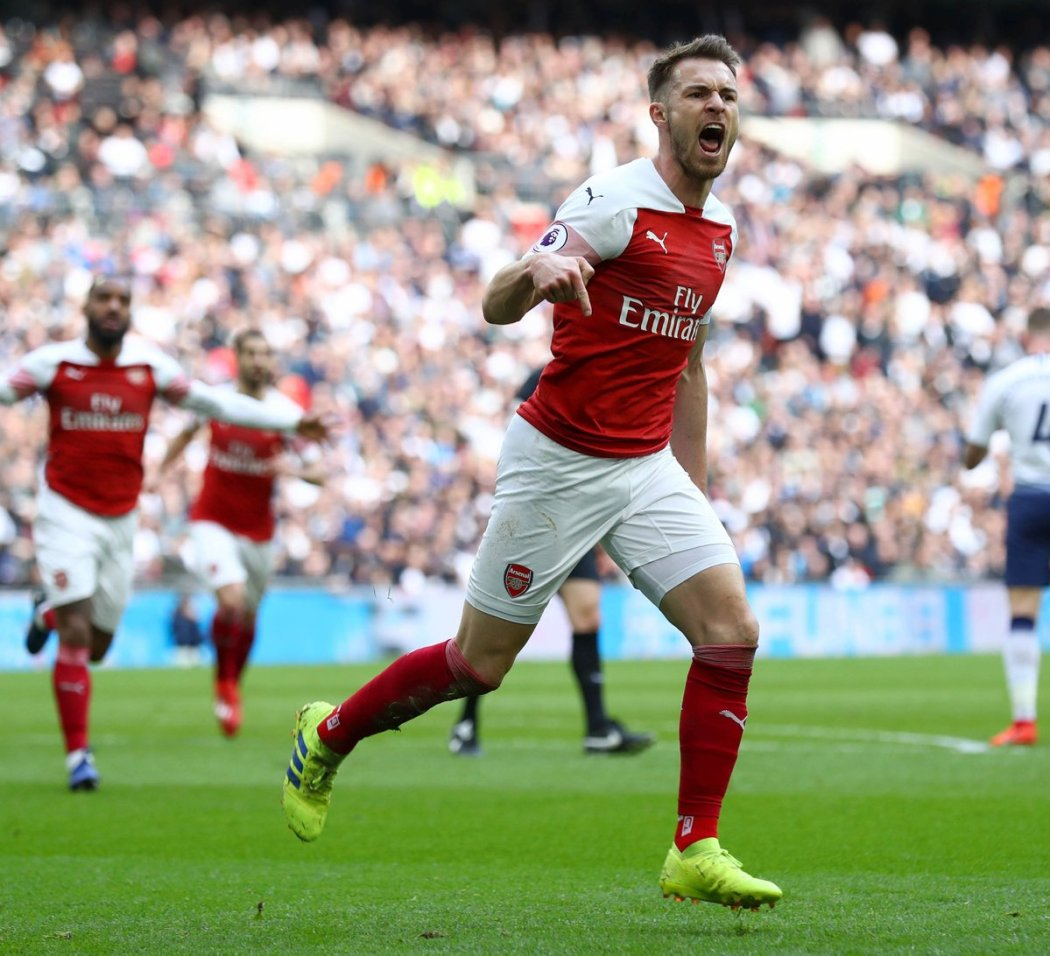 D0p8gFVXQAAHCXE - Ramsey Shines, Aubemayang Misses Penalty in North London Derby