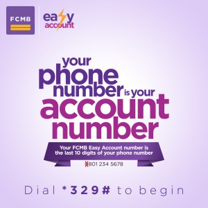 Easy Banking Social1 - Something Easy is here! Your Phone Number is Your Account Number!