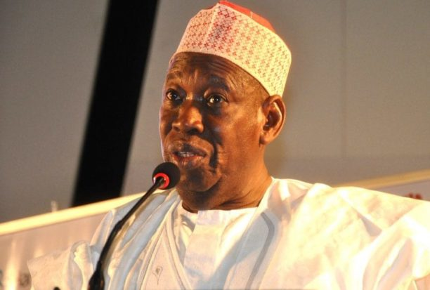 Ganduje e1551281939346 - Ganduje: We created more Emirates to reduce Sanusi's burden