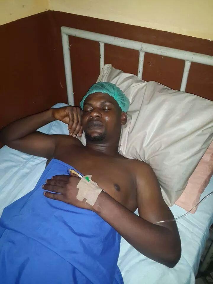MC Shakara - [Photo]: Comedian MC Shakara involved in ghastly car accident