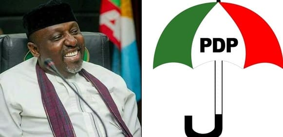 Rochas Okorocha Withdrew over N17billion - Rochas Okorocha Withdrew over N17billion From Banks In 3 Days – Imo PDP Alleges