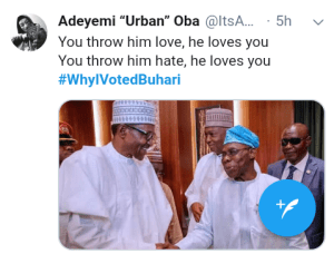 Screenshot 20190306 2006452 3 - Nigerians reveal reasons why they voted for President Buhari [See pictures]