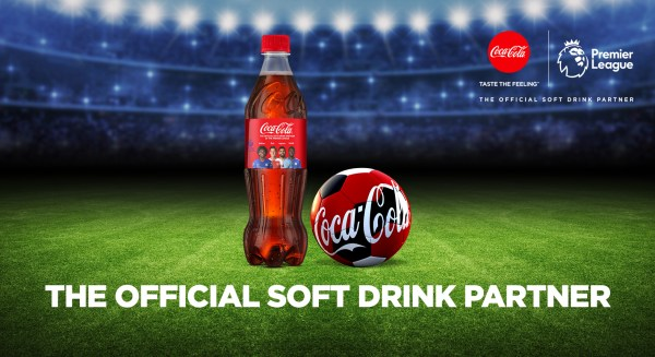 Static 2 - COCA-COLA REFRESHES FOOTBALL WITH EPL PARTNERSHIP