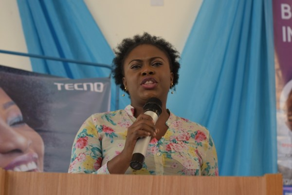 TECNOxIWDd - #BALANCEFORBETTER: TECNO MOBILE CELEBRATES INTERNATIONAL WOMEN'S DAY WITH STUDENTS