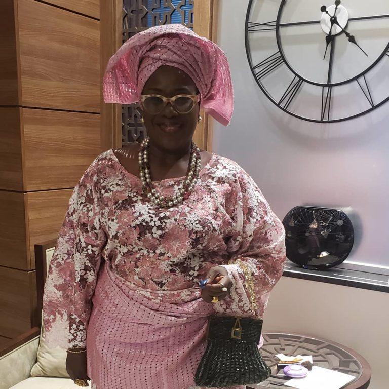 Temidayo Ted Abudu Adebola Makanjuola Traditional Engagement AsoebiBella BellaNaija 16 768x768 - [Beautiful Photos]: Asoebi Guests At Media Mogul, Mo Abudu's Daughter's Wedding