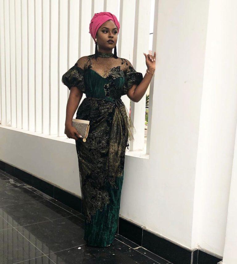 Temidayo Ted Abudu Adebola Makanjuola Traditional Engagement AsoebiBella BellaNaija 34 768x856 - [Beautiful Photos]: Asoebi Guests At Media Mogul, Mo Abudu's Daughter's Wedding