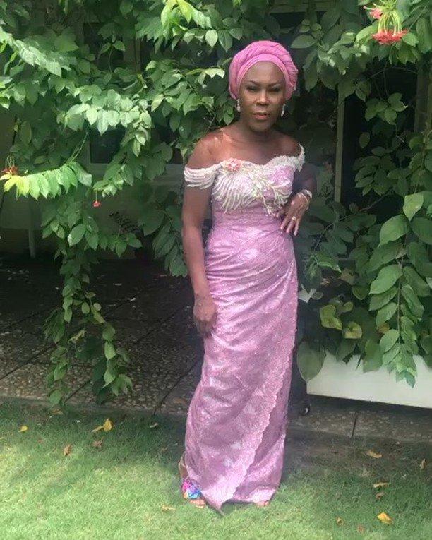 Temidayo Ted Abudu Adebola Makanjuola Traditional Engagement AsoebiBella BellaNaija 45 - [Beautiful Photos]: Asoebi Guests At Media Mogul, Mo Abudu's Daughter's Wedding