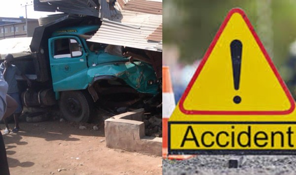 accident - Truck Crushes Mother And Her Baby To Death In Lagos