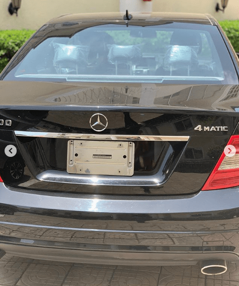 b 1 - Boss lady! Regina Daniels acquires Second Benz in One Month