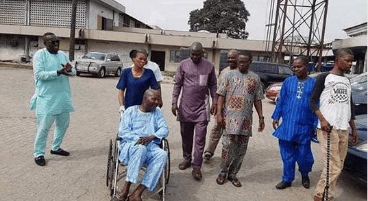baba suwe health update - Yomi Fabiyi gives an update on Baba Suwe's health