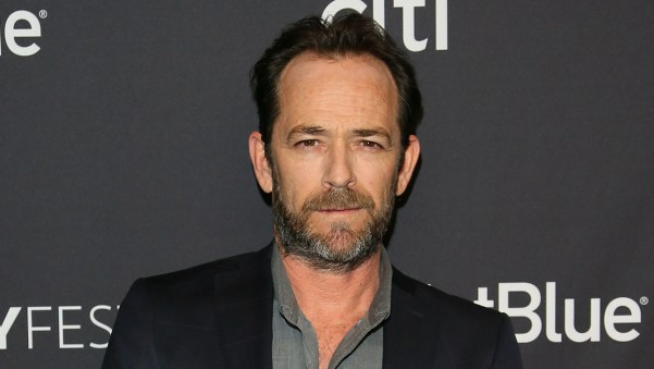 hollywood reporter - Actor Luke Perry In The Hospital
