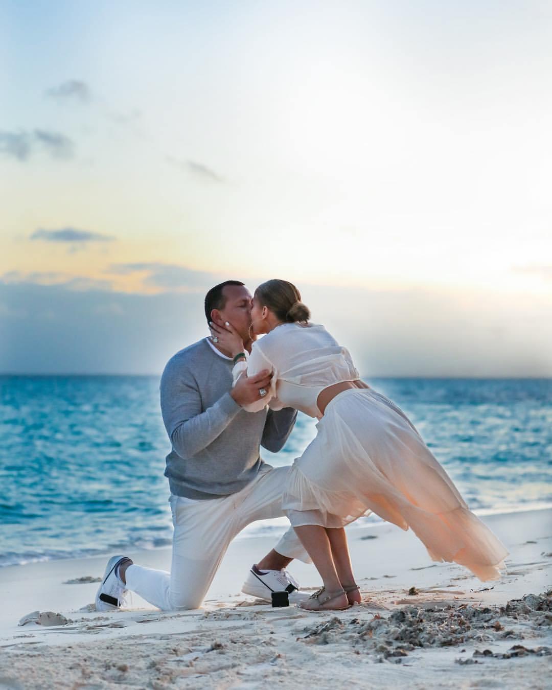 jennifer Lopez and Alex rodriguez engagement