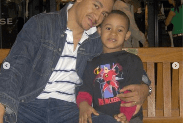 Daddy Freeze pens beautiful birthday message for his son as he turns a year older