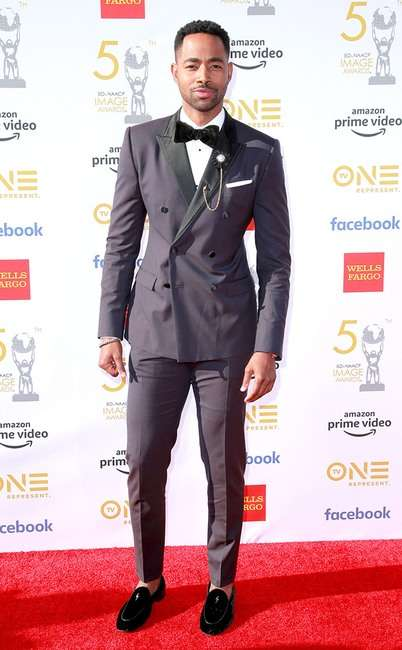 rs 634x1024 190330175721 634 Jay Ellis GettyImages 1139374098 - [Photos]: 2019 NAACP Awards: Checkout some of the best dressed celebrities on the red carpet