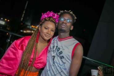 Mr Eazi and Teni Otedola spotted at Coachella [Picture]