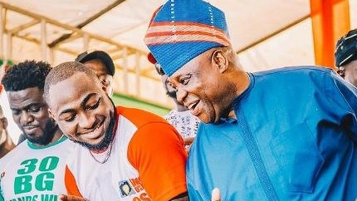 ''Desperation At Its Peak'' - Davido On Lawsuit Seeking To Remove Ademola Adeleke As Senator.