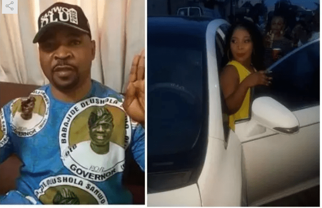 NURTW boss MC Oluomo buys a brand new car for his daughter