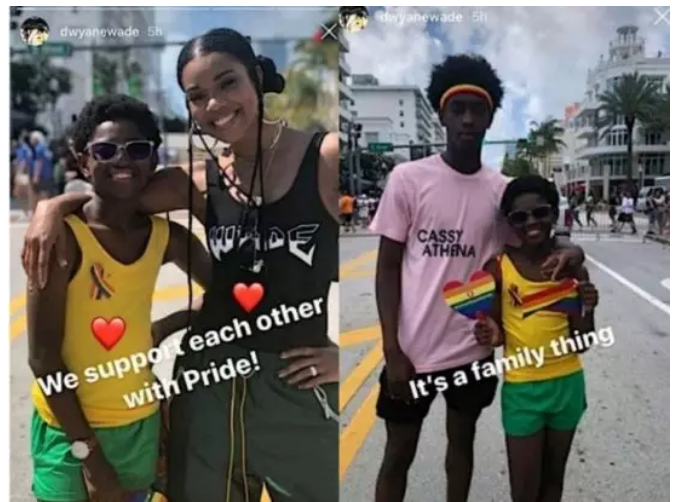 1 45 - Gabrielle Union finally opens up on why she allowed her son attend a gay rally