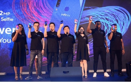 1 min 3 - SMART AND EMPOWERED – Infinix Mobility launches the smartphone to Empower You – Hot S4 with 32MP A.I selfie camera – in grand style