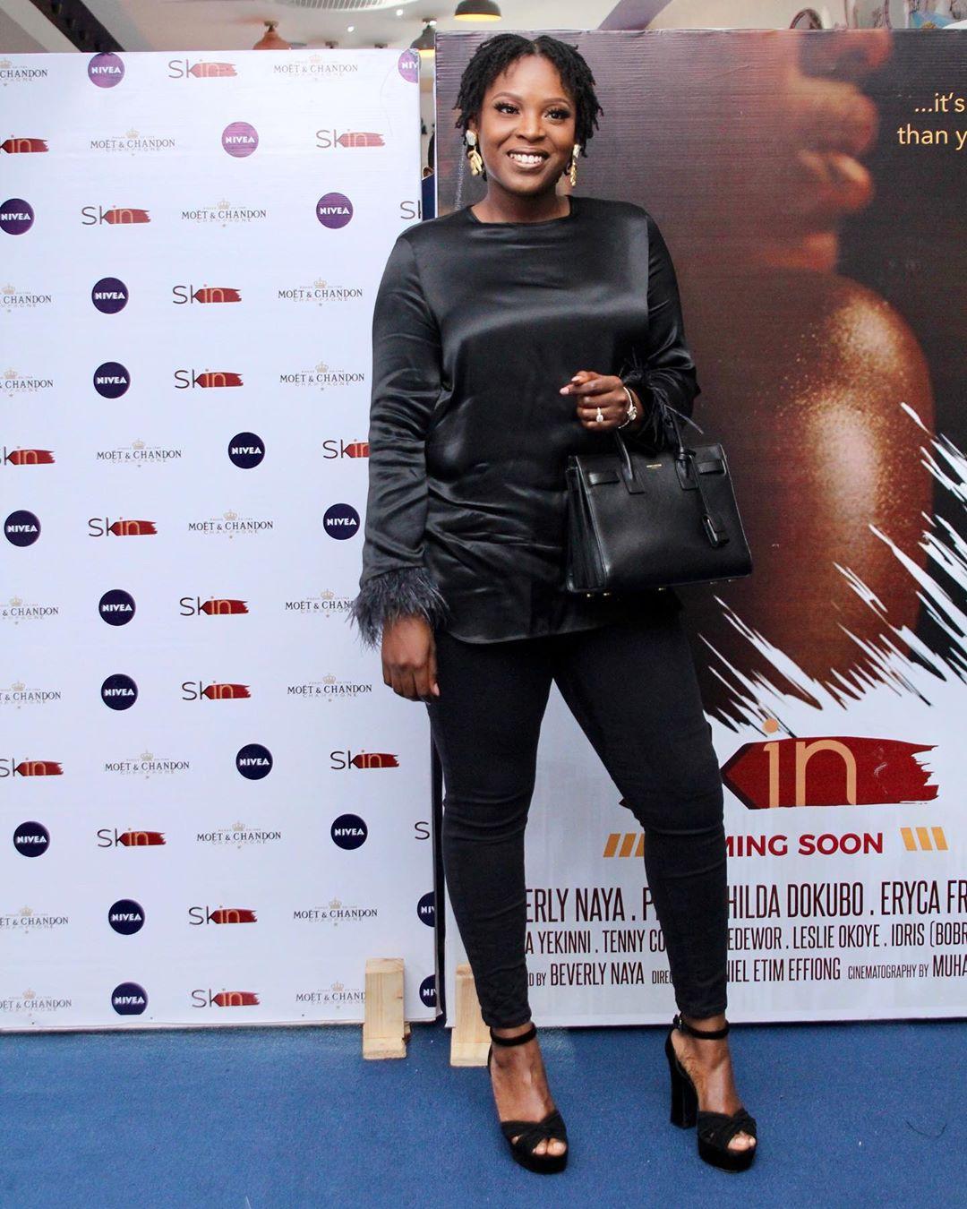 """11 - Omotola Jalade-Ekeinde, Mo Abudu, others spotted at the Premiere of Beverly Naya's Documentary """"Skin"""""""