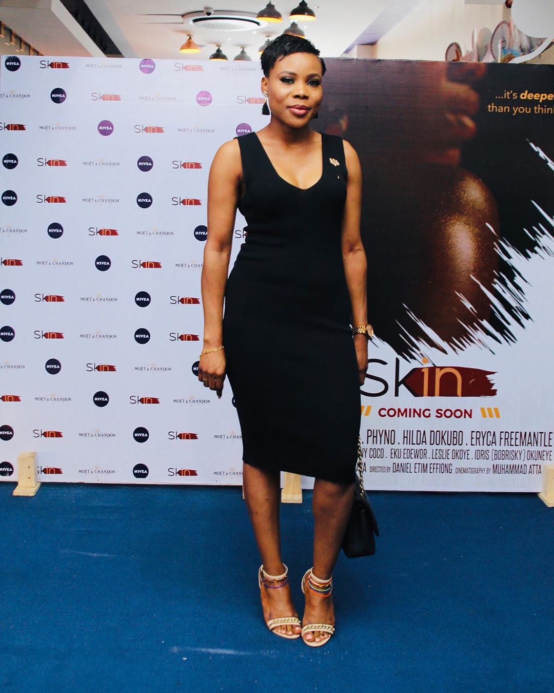 "13 - Omotola Jalade-Ekeinde, Mo Abudu, others spotted at the Premiere of Beverly Naya's Documentary ""Skin"""
