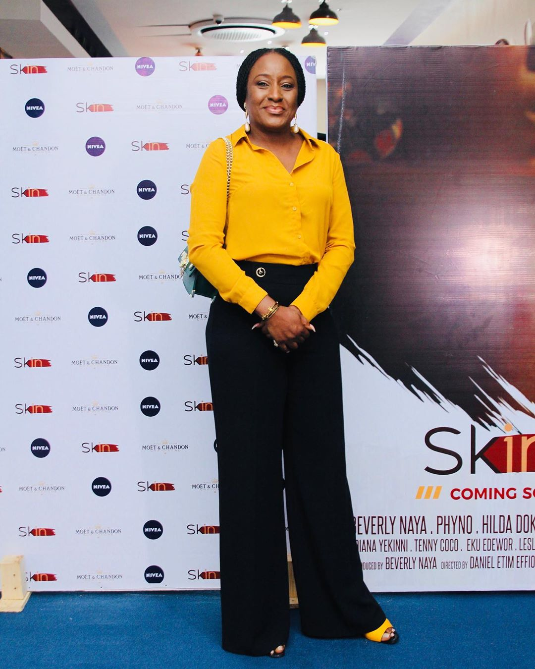 "Omotola Jalade-Ekeinde, Mo Abudu, others spotted at the Premiere of Beverly Naya's Documentary ""Skin"""