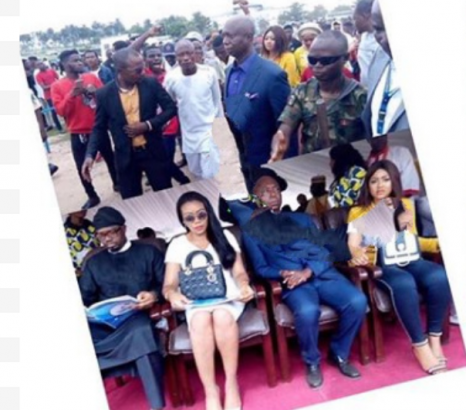 2 32 - [Photo]: Regina Daniels and Ned Nwoko spotted in public together for the first time