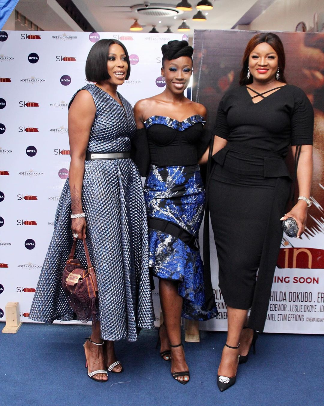 "2 - Omotola Jalade-Ekeinde, Mo Abudu, others spotted at the Premiere of Beverly Naya's Documentary ""Skin"""