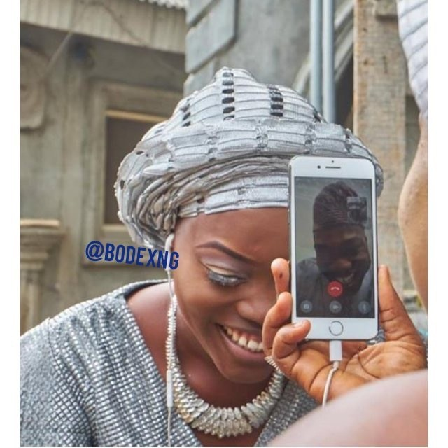 26B1C35F 77EB 4374 ACF0 FFC233853603 - Nigerian woman weds her US-based boo via a phone call