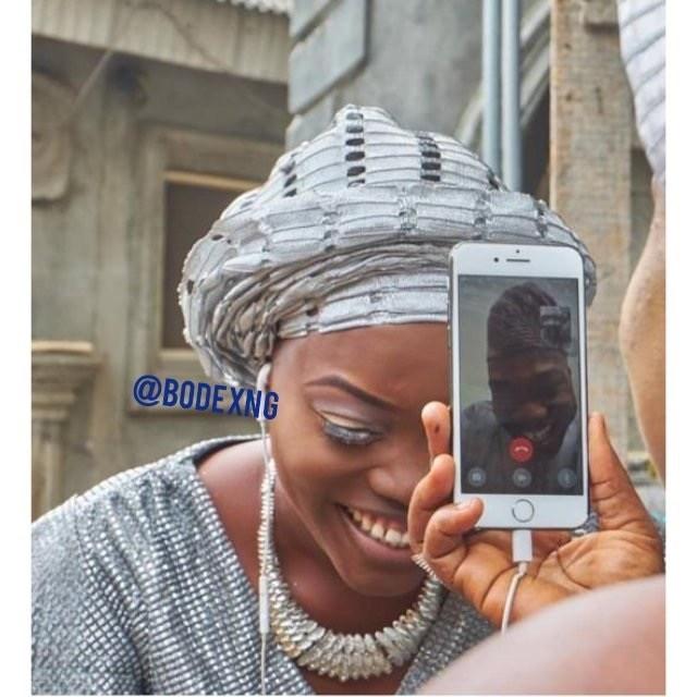 26B1C35F 77EB 4374 ACF0 FFC233853603 - Nigerian woman weds her US-based boo via a phone call
