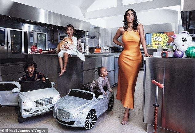 2E91E34B 4252 4DCE B6E8 1E1186E4A421 - [Photos]: Kim Kardashian lands Vogue magazine cover